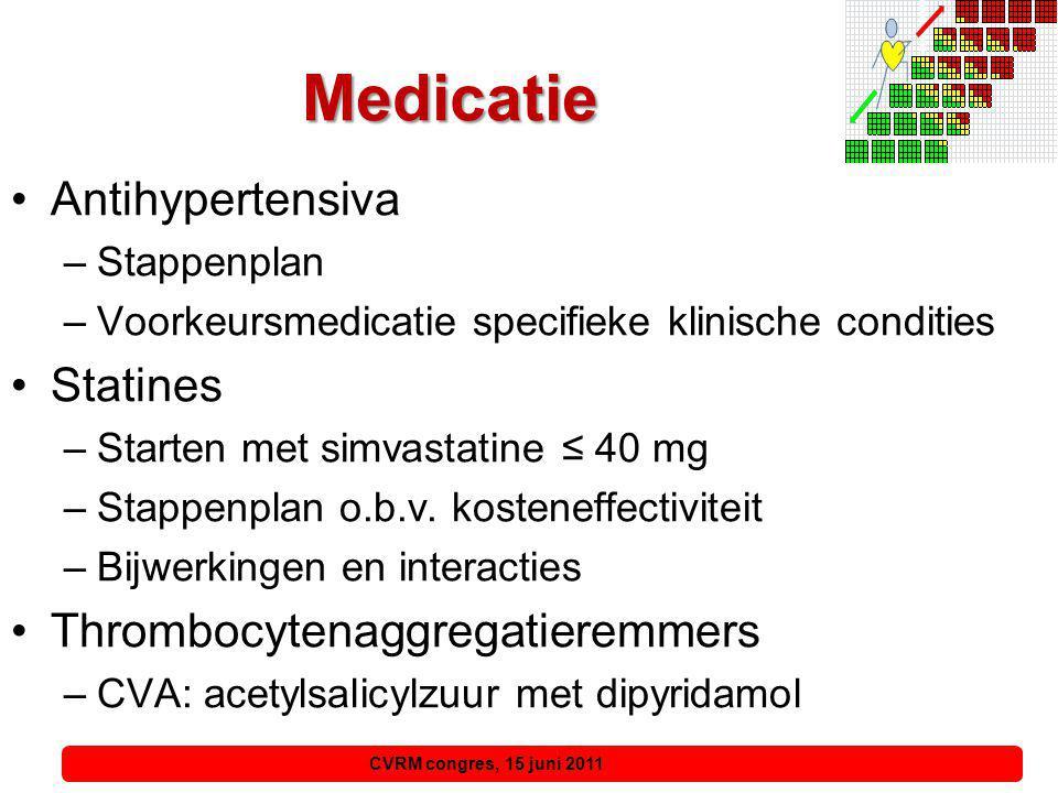 Antihypertensiva Stappenplan 'Ongecompliceerde hypertensie' Stappenplan Therapieresistente Hypertensie Stap 1Thiazidediureticum of calciumantagonist Stap 2Voeg ACE-remmer toe (bij kriebelhoest ARB), bij voorkeur in combinatietablet Stap 3Combineer thiazidediureticum, ACE-remmer (ARB) en calciumantagonist Stap 4Overweeg therapieresistente hypertensie
