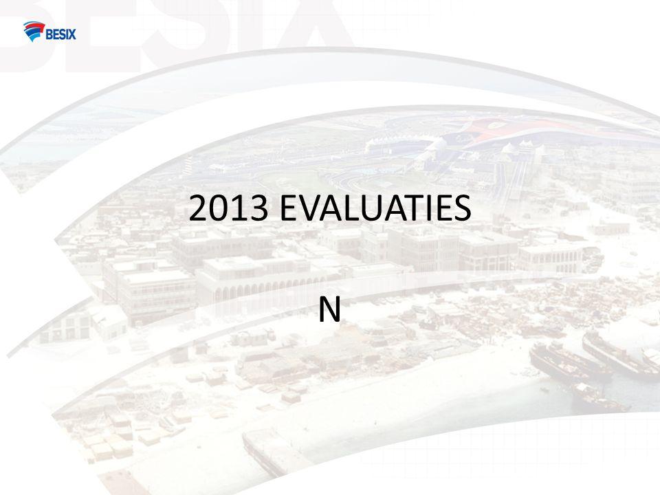 2013 EVALUATIES N