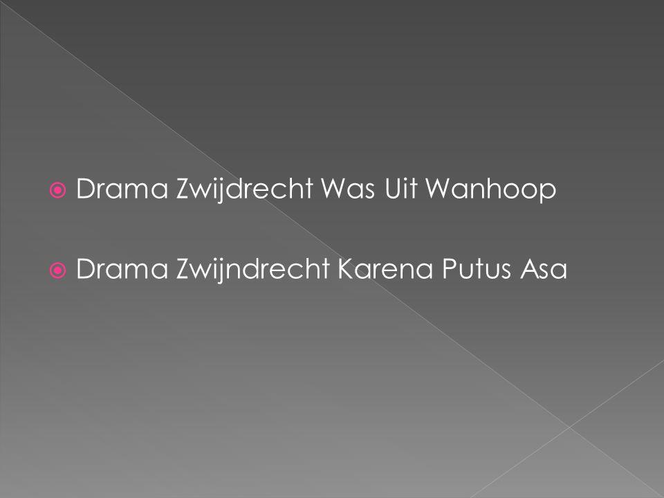  Drama Zwijdrecht Was Uit Wanhoop  Drama Zwijndrecht Karena Putus Asa