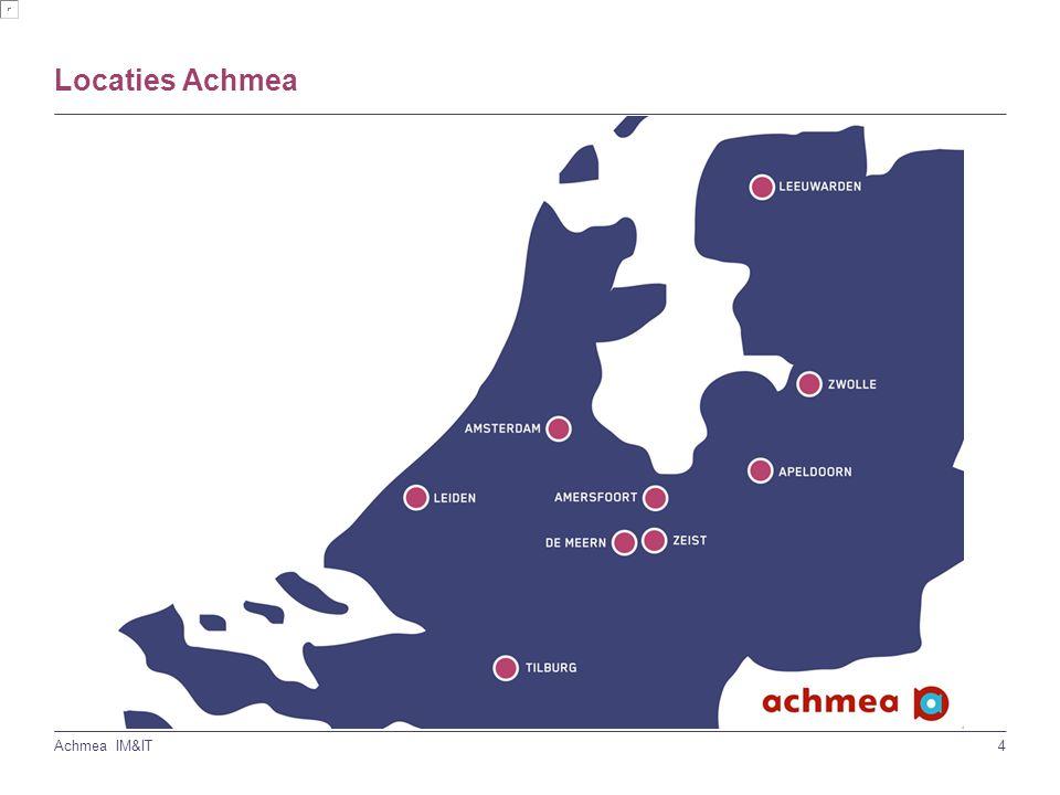4 Achmea IM&IT Locaties Achmea