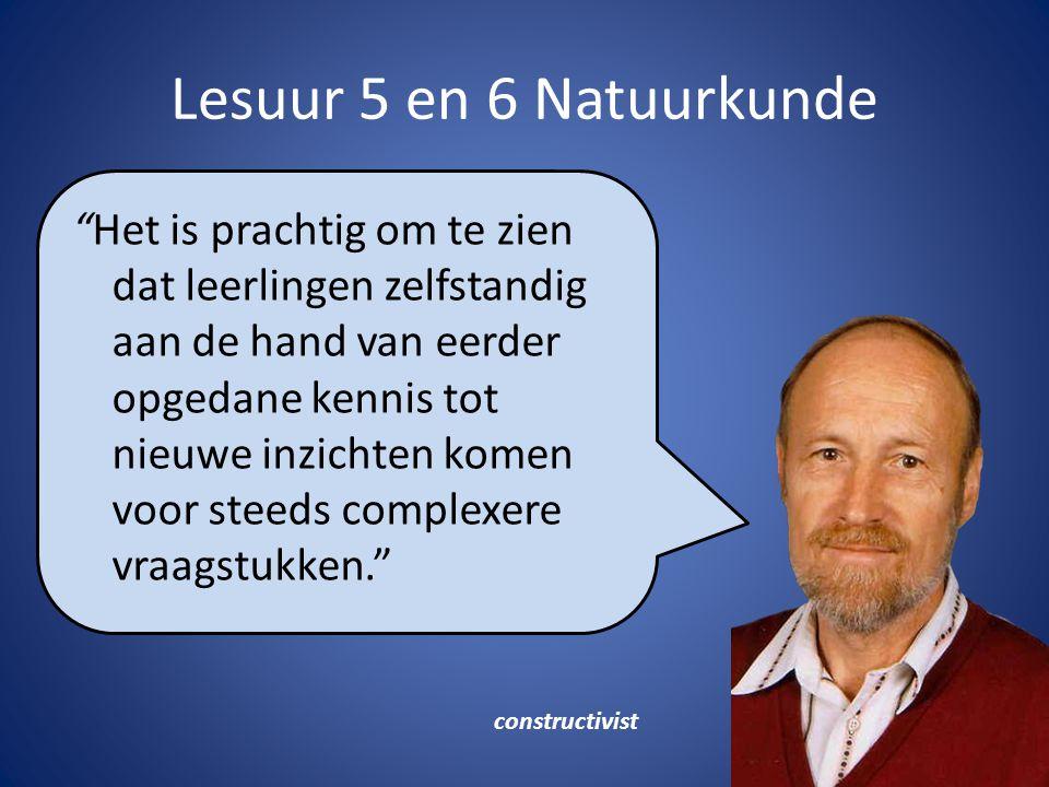 """Lesuur 5 en 6 Natuurkunde Maarten """"Het is prachtig om te zien dat leerlingen zelfstandig aan de hand van eerder opgedane kennis tot nieuwe inzichten k"""