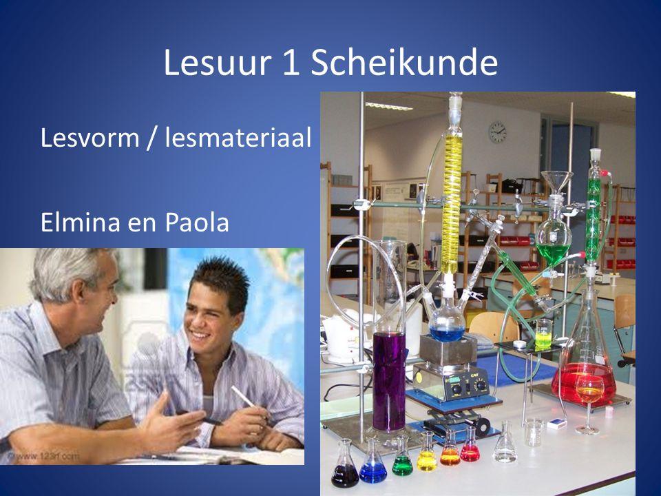 Lesuur 5 en 6 Natuurkunde Maarten Het is prachtig om te zien dat leerlingen zelfstandig aan de hand van eerder opgedane kennis tot nieuwe inzichten komen voor steeds complexere vraagstukken. constructivist