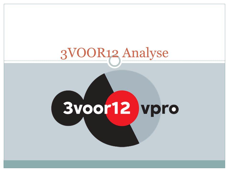 3VOOR12 Analyse
