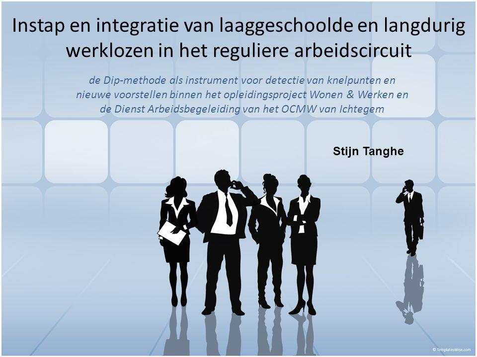 Instap en integratie van laaggeschoolde en langdurig werklozen in het reguliere arbeidscircuit de Dip-methode als instrument voor detectie van knelpun