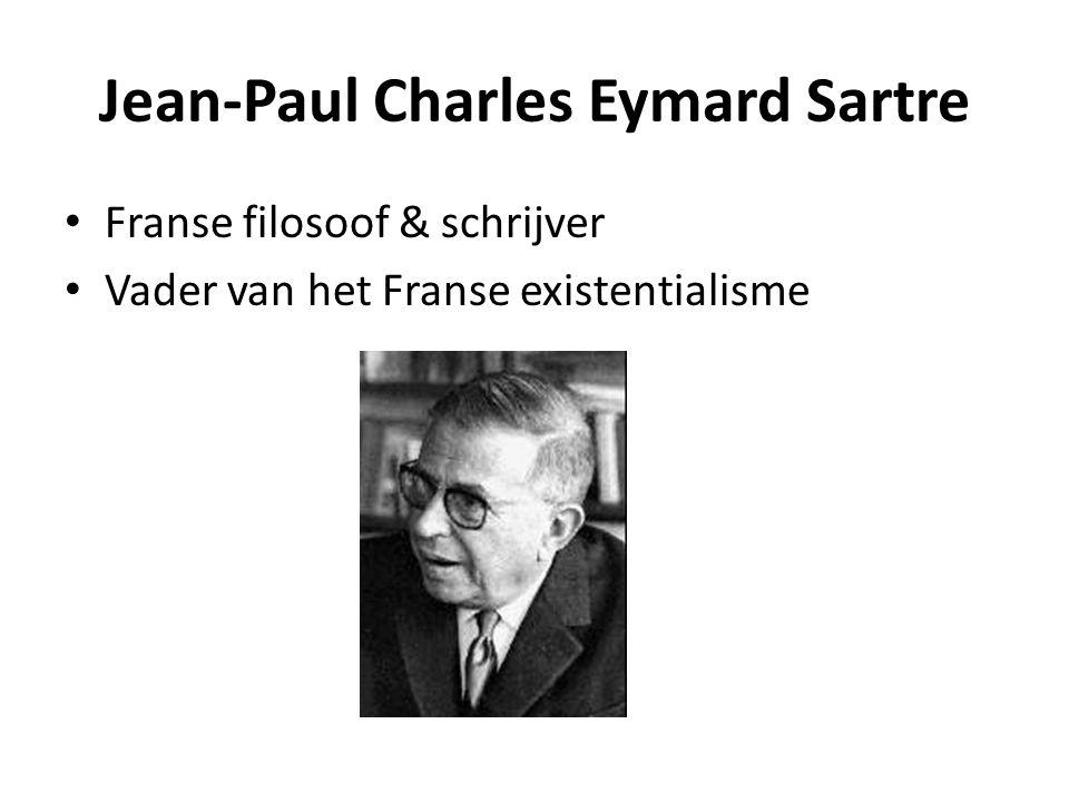 Franse filosoof & schrijver Vader van het Franse existentialisme