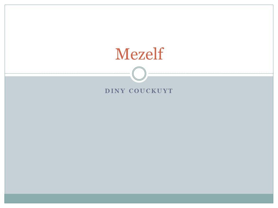 DINY COUCKUYT Mezelf