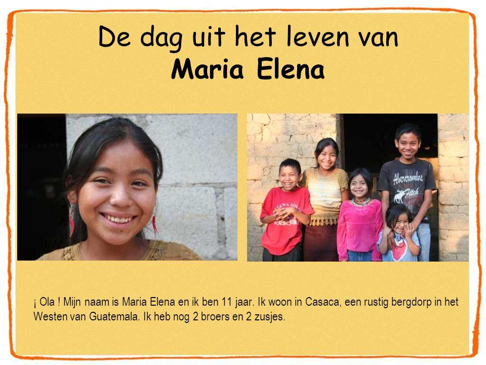 ¡ Ola .Mijn naam is Maria Elena en ik ben 11 jaar.