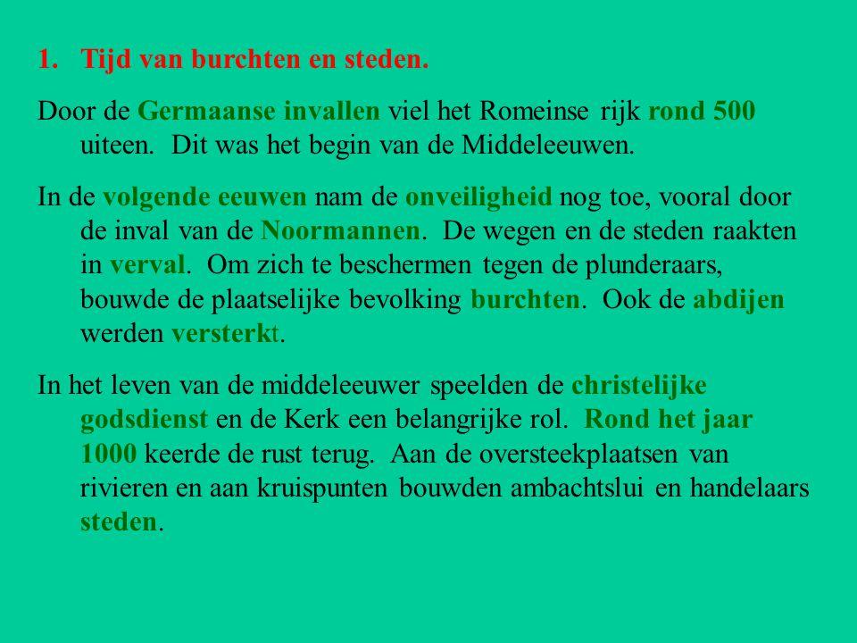 2.Gent en Brugge waren internationale steden.