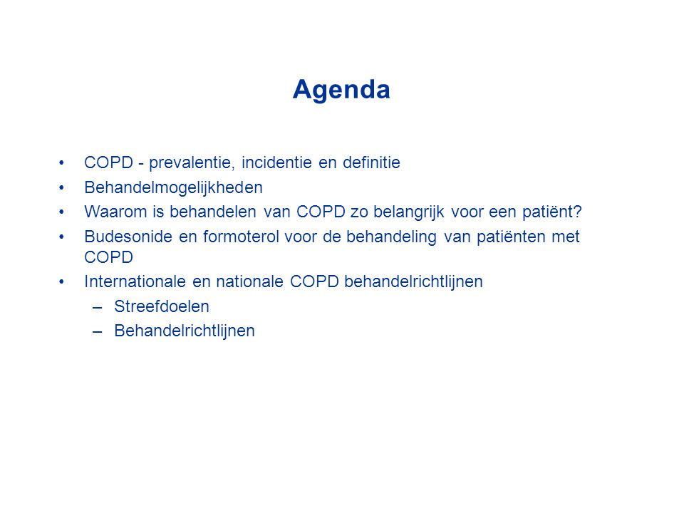 Formoterol reduceert de ademarbeid ('work of breathing') bij COPD patiënten Maesen et al.