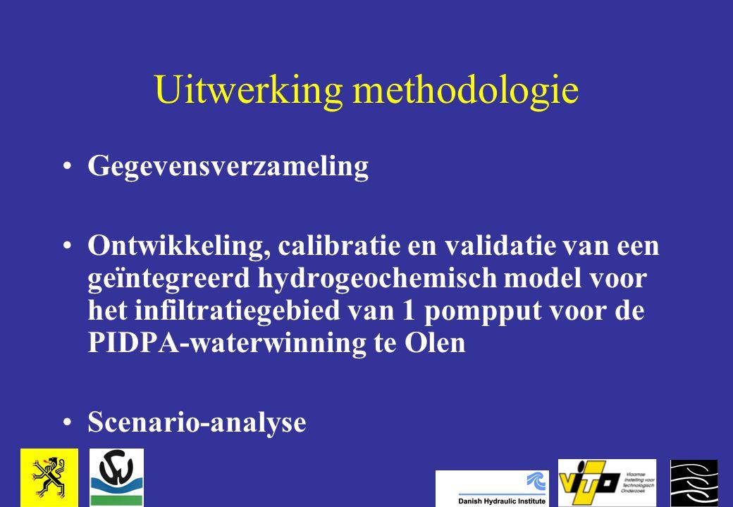 Uitwerking methodologie Gegevensverzameling Ontwikkeling, calibratie en validatie van een geïntegreerd hydrogeochemisch model voor het infiltratiegebied van 1 pompput voor de PIDPA-waterwinning te Olen Scenario-analyse