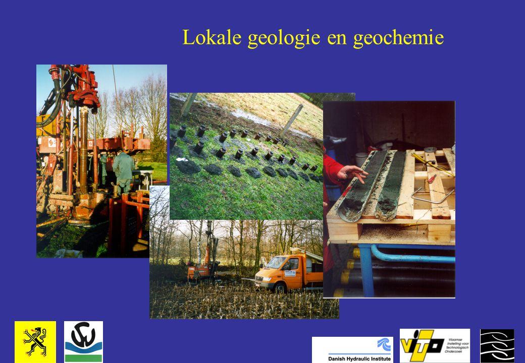 Lokale geologie en geochemie