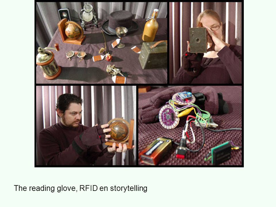 The reading glove, RFID en storytelling