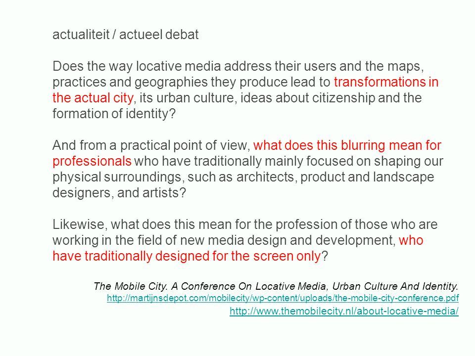 opdr.2 research: context in kaart brengen researchvraag: welke verhalen wil je vertellen.