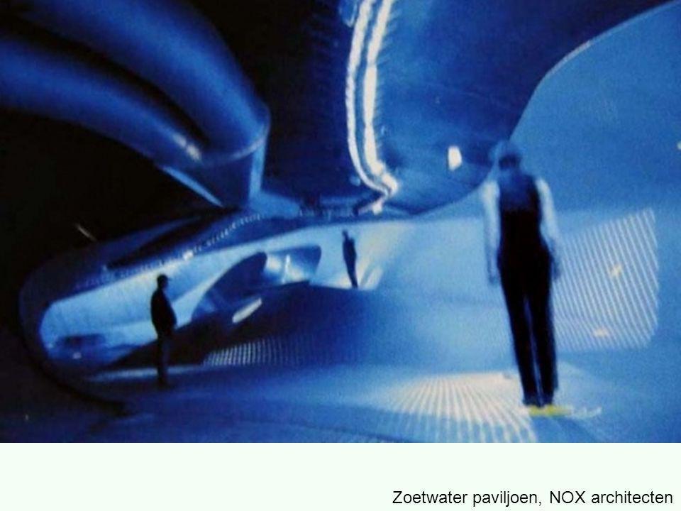 Zoetwater paviljoen, NOX architecten
