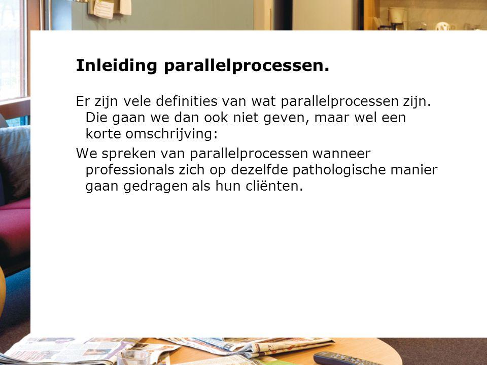 Inleiding parallelprocessen.Er zijn vele definities van wat parallelprocessen zijn.