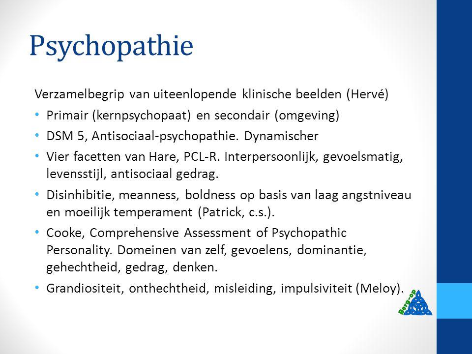 Samenhang psychopathie en gehechtheid
