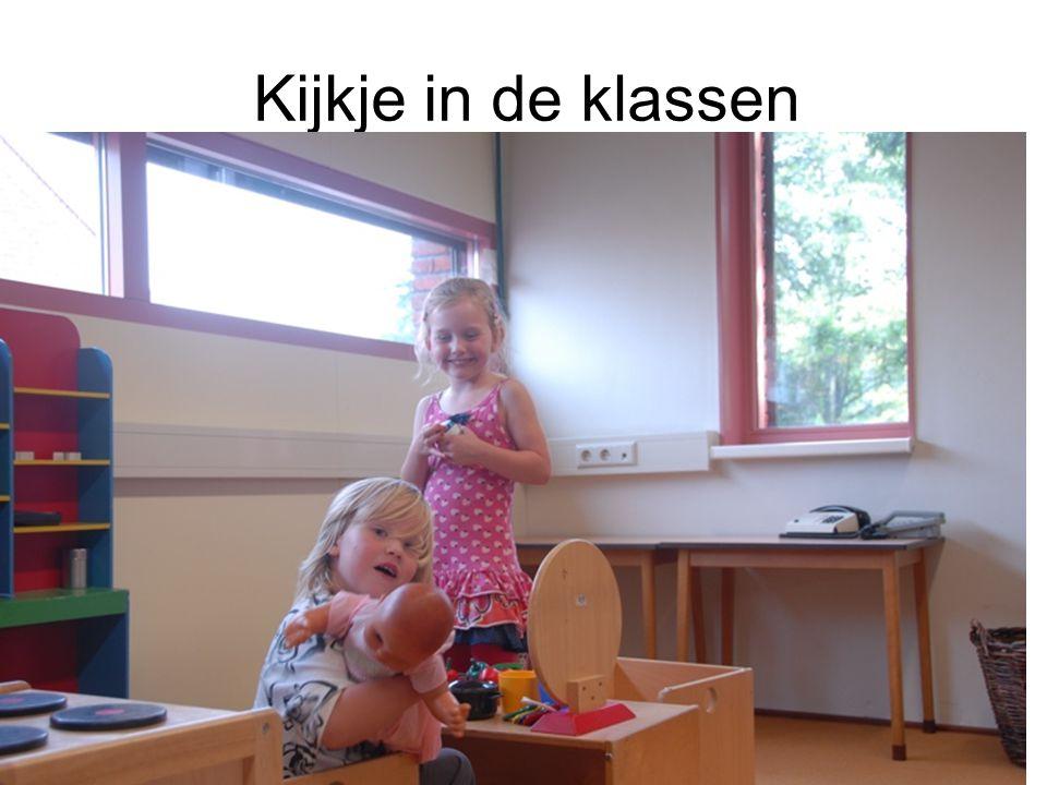 Kijkje in de klassen