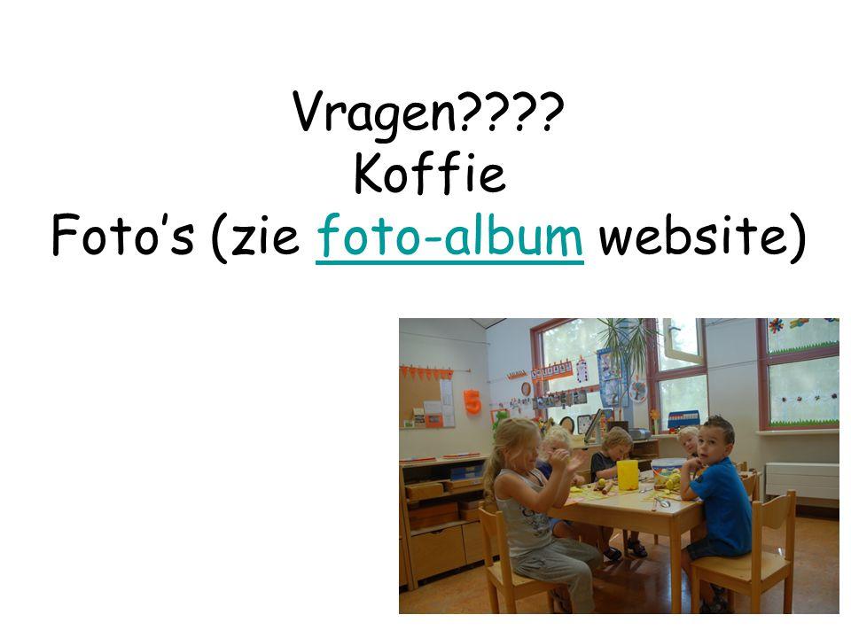 Vragen Koffie Foto's (zie foto-album website)foto-album
