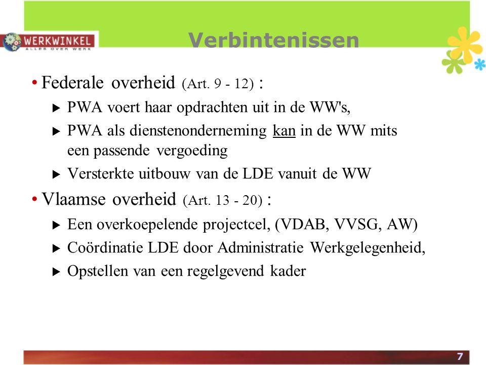 7 Verbintenissen Federale overheid (Art.