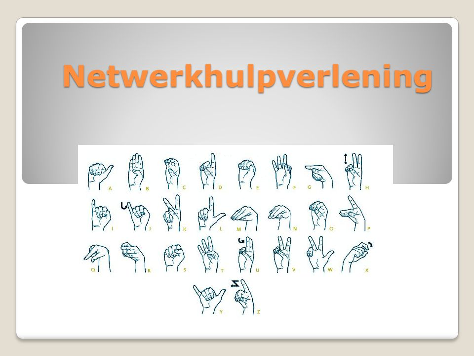 Netwerkhulpverlening