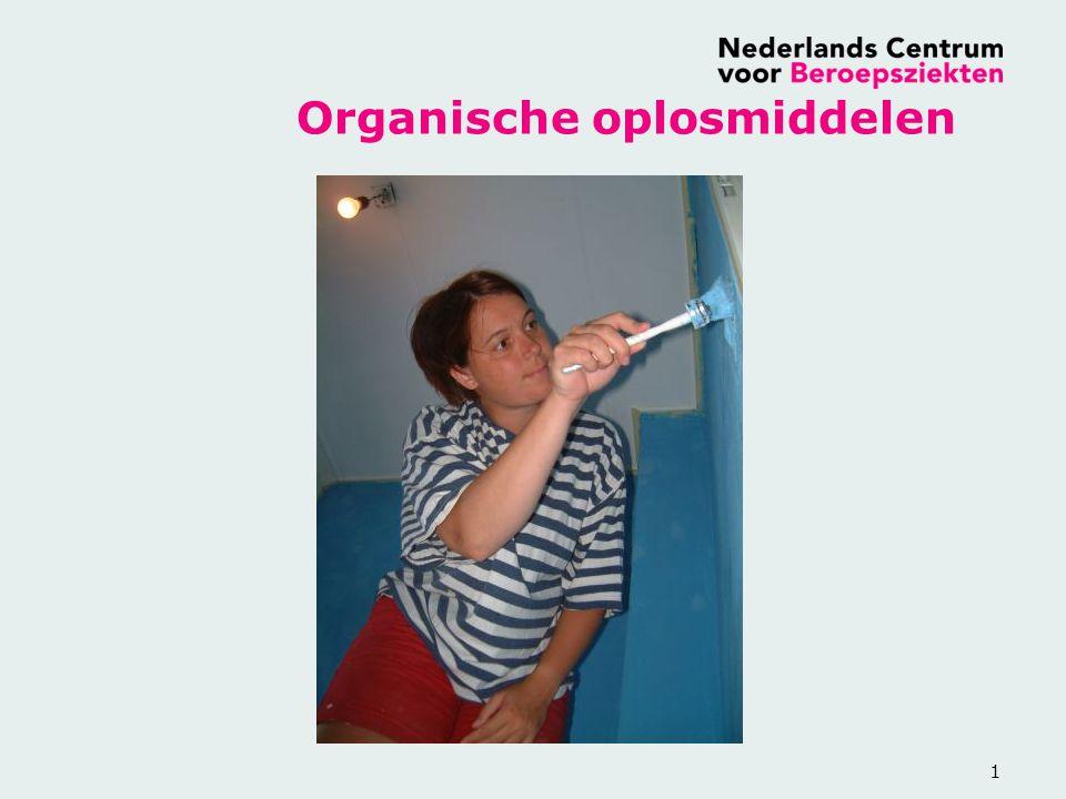 1 Organische oplosmiddelen