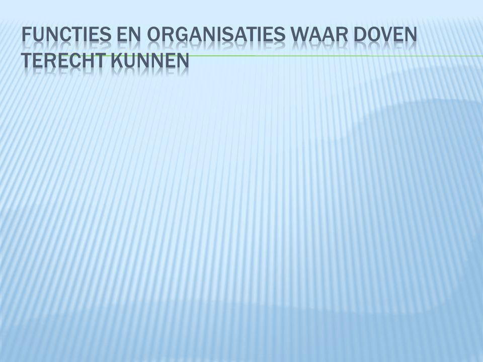  Nederlandse Vereniging voor Slechthorenden  landelijke belangenvereniging voor mensen die hoorproblemen hebben: slechthorendheid, oorsuizen, overgevoeligheid voor geluid, de ziekte van Ménière.