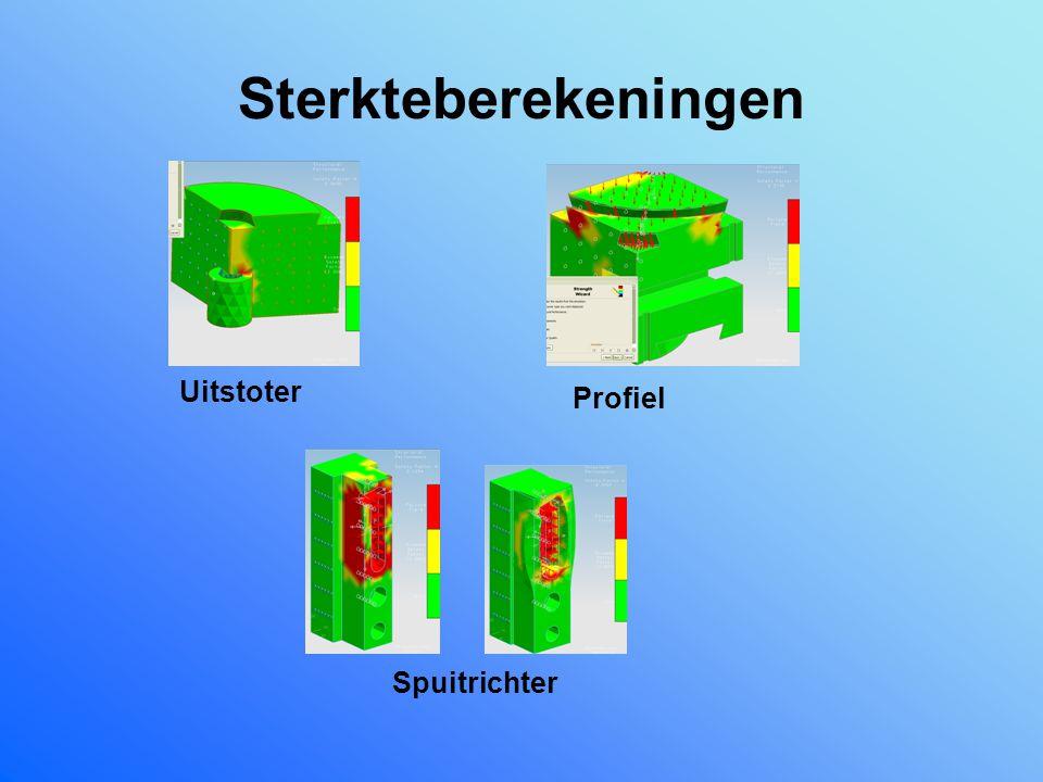 Sterkteberekeningen Uitstoter Profiel Spuitrichter