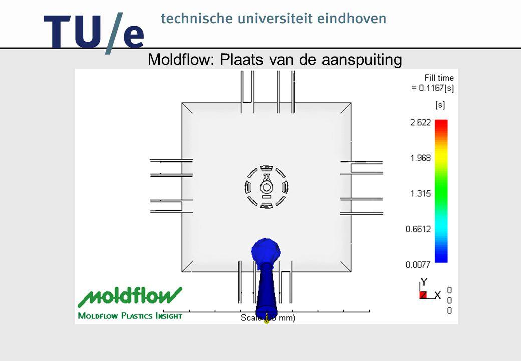 Moldflow: Plaats van de aanspuiting