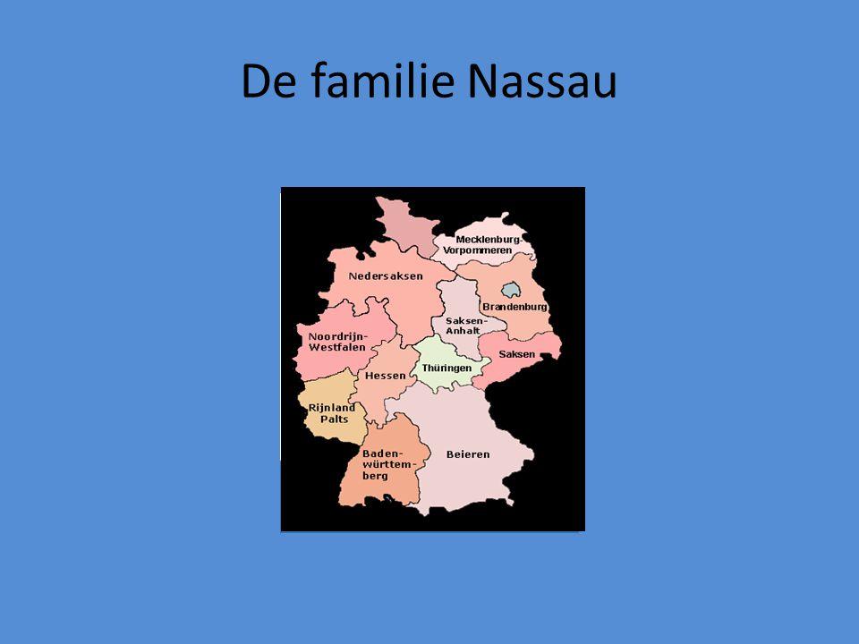 De familie Nassau
