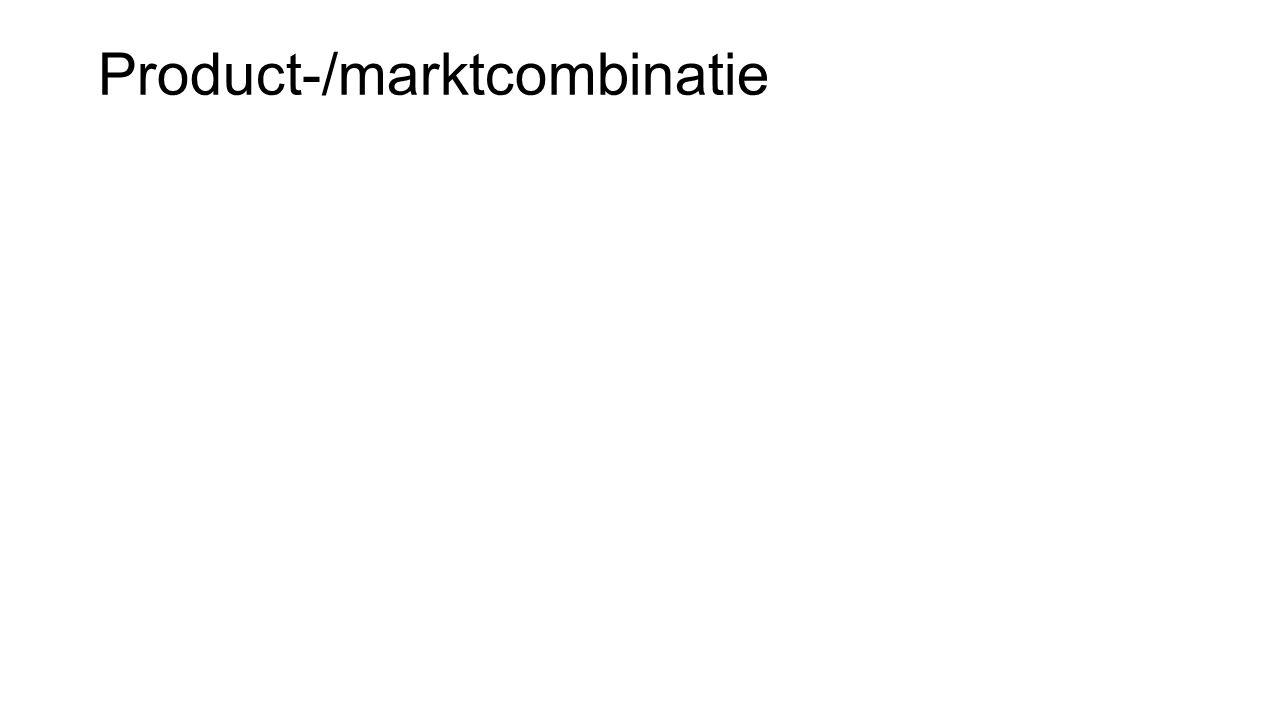 Product-/marktcombinatie