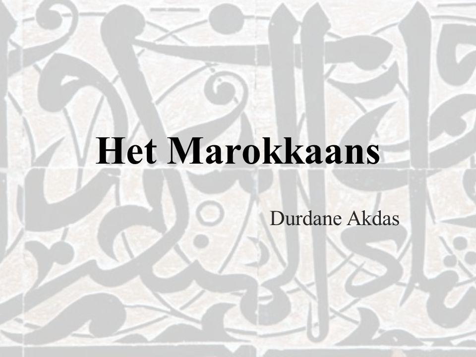 Het Marokkaans Durdane Akdas