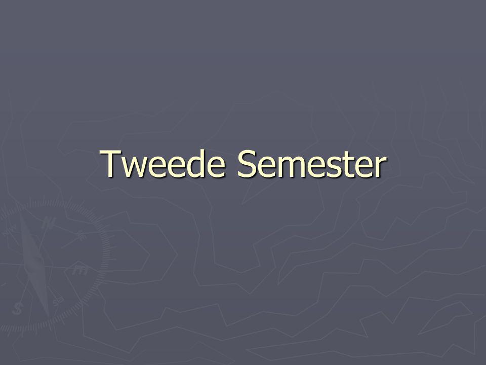 Tweede Semester