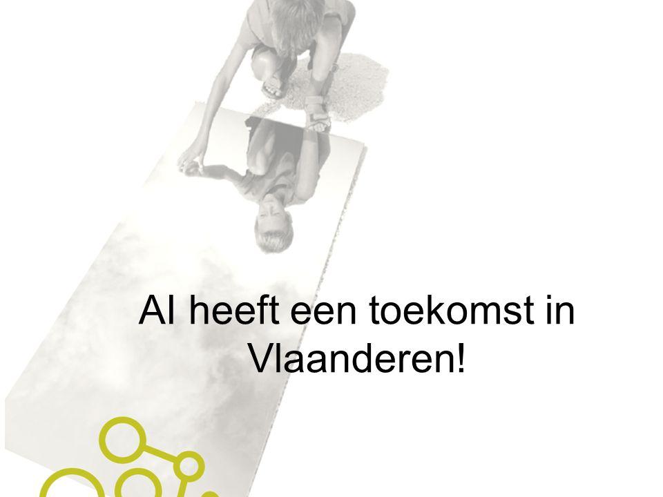 AI heeft een toekomst in Vlaanderen!