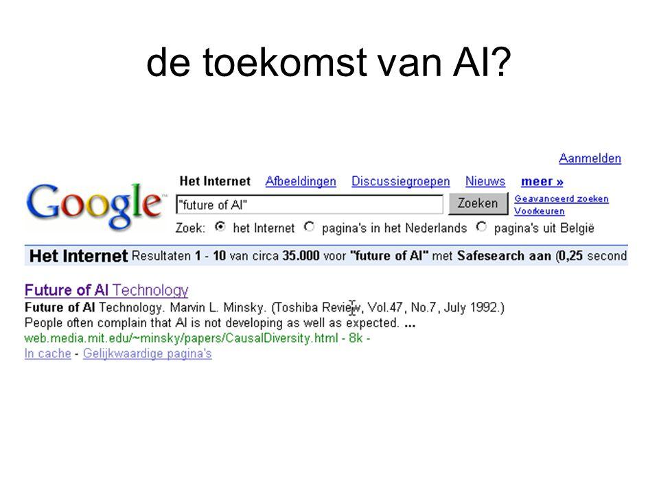 de toekomst van AI?