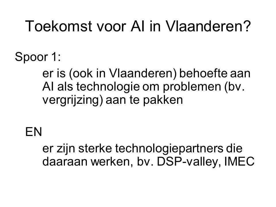 Toekomst voor AI in Vlaanderen.