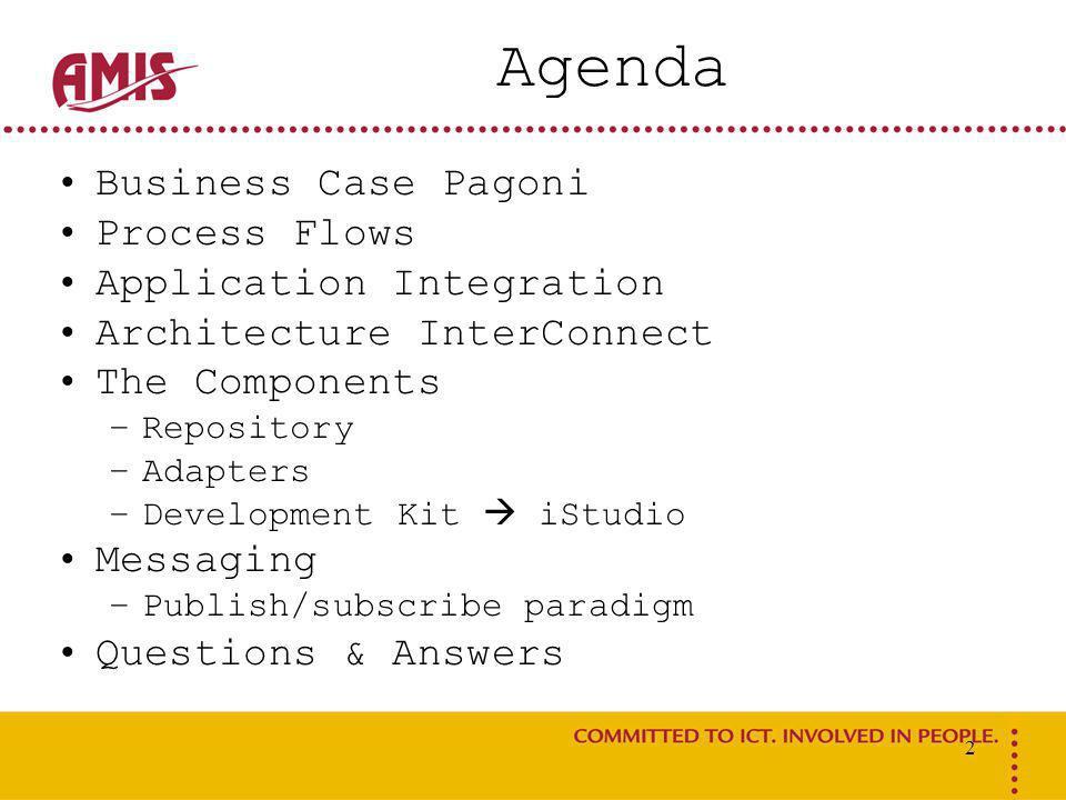 3 Business Case Pagoni Pagoni: Boekhouding rondom grondexploitatie bij gemeenten.
