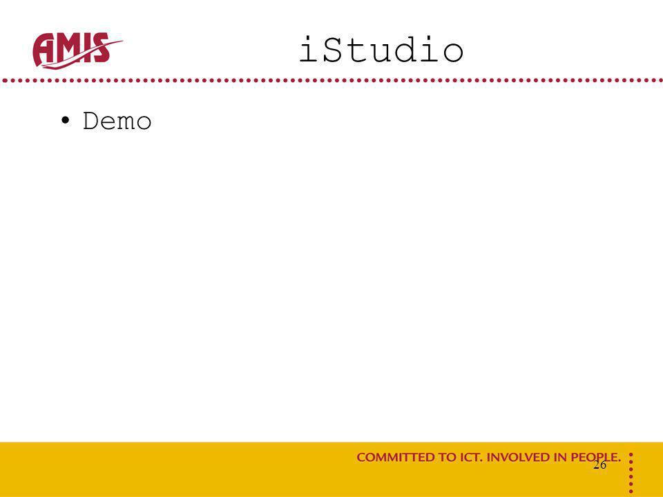 26 iStudio Demo