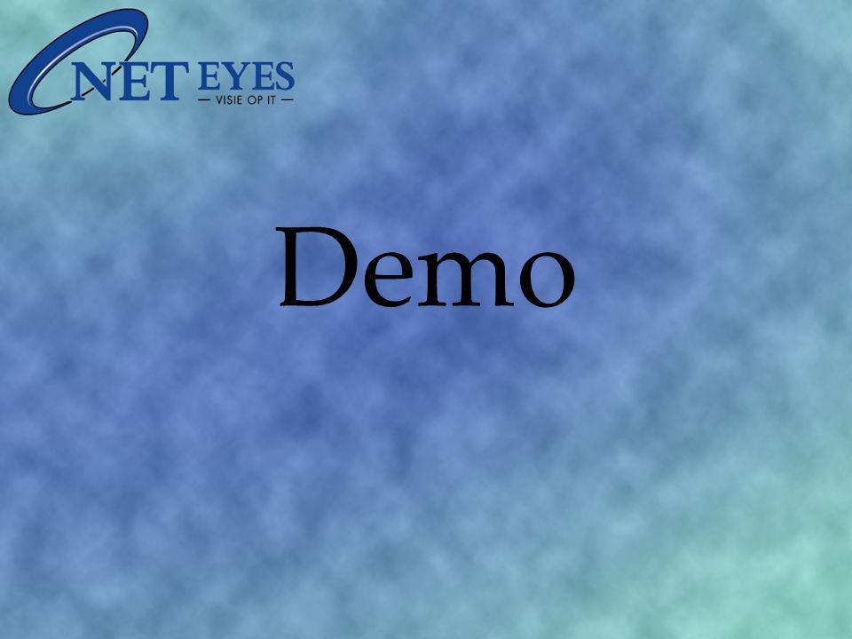 Demo: Lokaal aanmelden (OneAccess Local) SSL-telewerken (OneAccess Remote) Web-applicaties (OneAccess Web) Single Sign-on