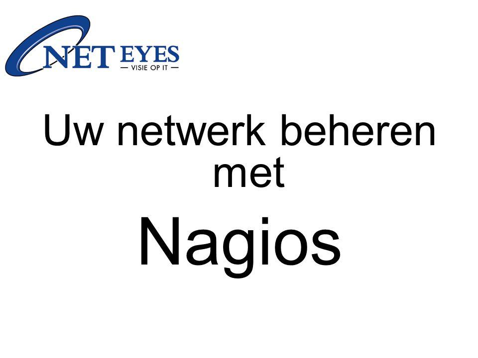 Agenda Wat is Nagios .Wat kan het . Hoe werkt Nagios .