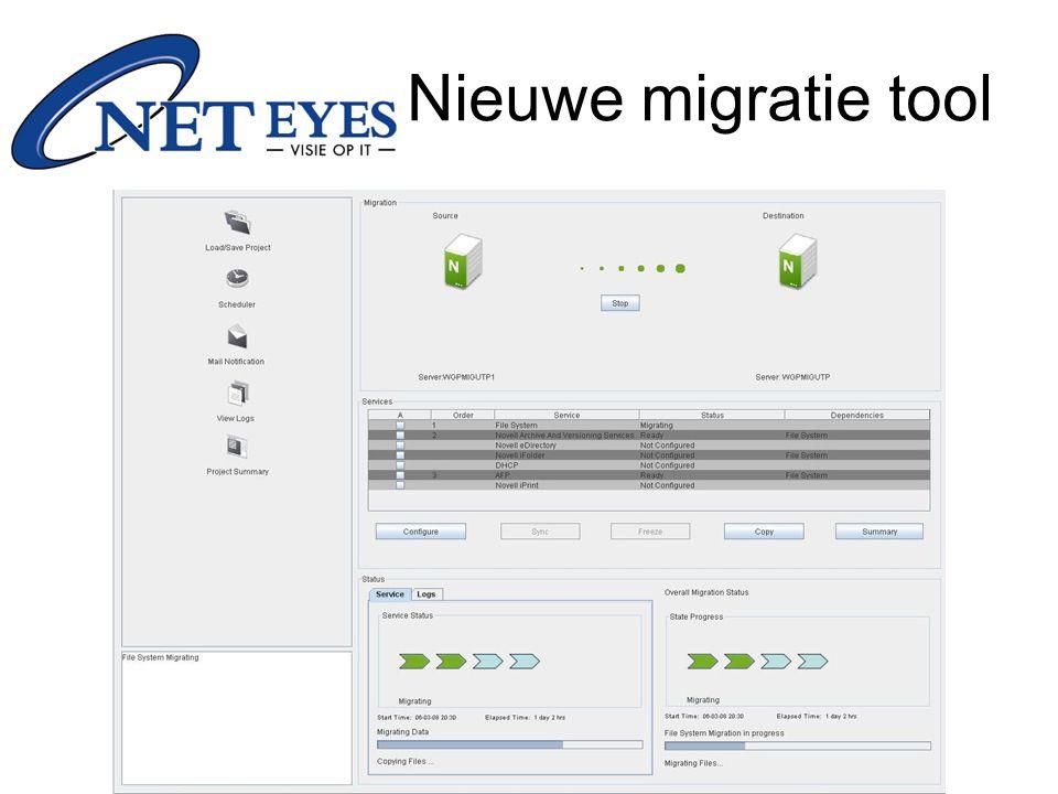 Nieuwe migratie tool