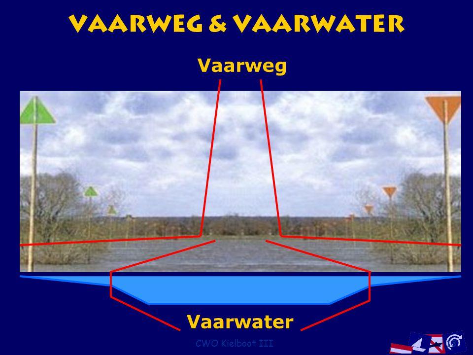 CWO Kielboot III13 Vaarweg & Vaarwater Vaarwater Vaarweg