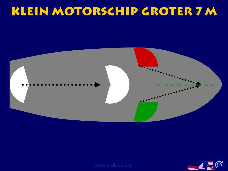 CWO Kielboot III138 Klein motorschip groter 7 m