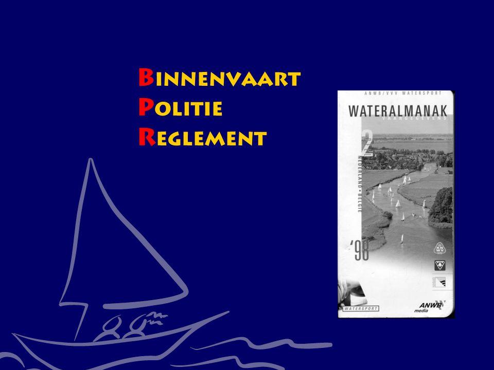 CWO Kielboot III5 B innenvaart P olitie R eglement
