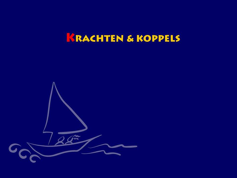 CWO Kielboot III52 K rachten & koppels