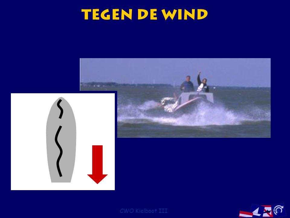 CWO Kielboot III76 Tegen de wind