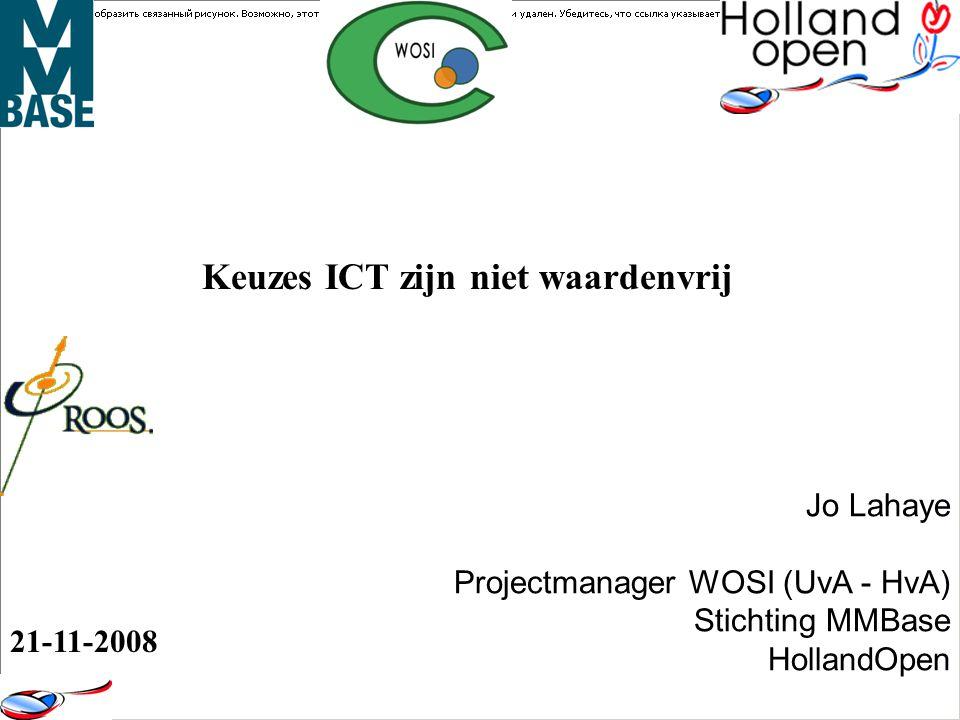 Conferenties, symposia, workshops, thematische netwerk borrels, belangenorganisatie, projecten, communities, etc..