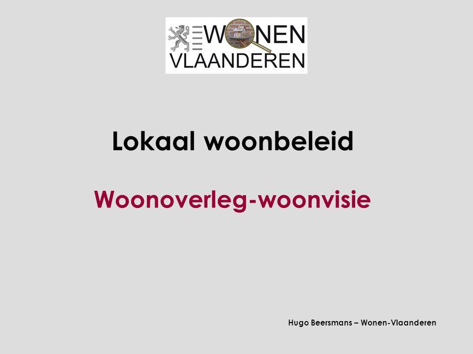 1.Regiefunctie en 3 opdrachten Vlaamse wooncode, art.