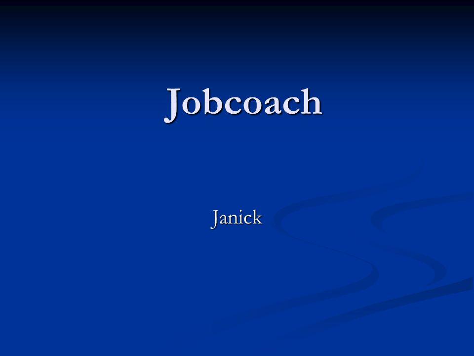 Doel = jobcoaching Jobcoaching = methodiek Jobcoaching = methodiek Kansengroepen Kansengroepen Duurzame tewerkstelling Duurzame tewerkstelling Jobcoaching = procesbegeleiding Jobcoaching = procesbegeleiding Interactie tussen verschillende actoren Interactie tussen verschillende actoren