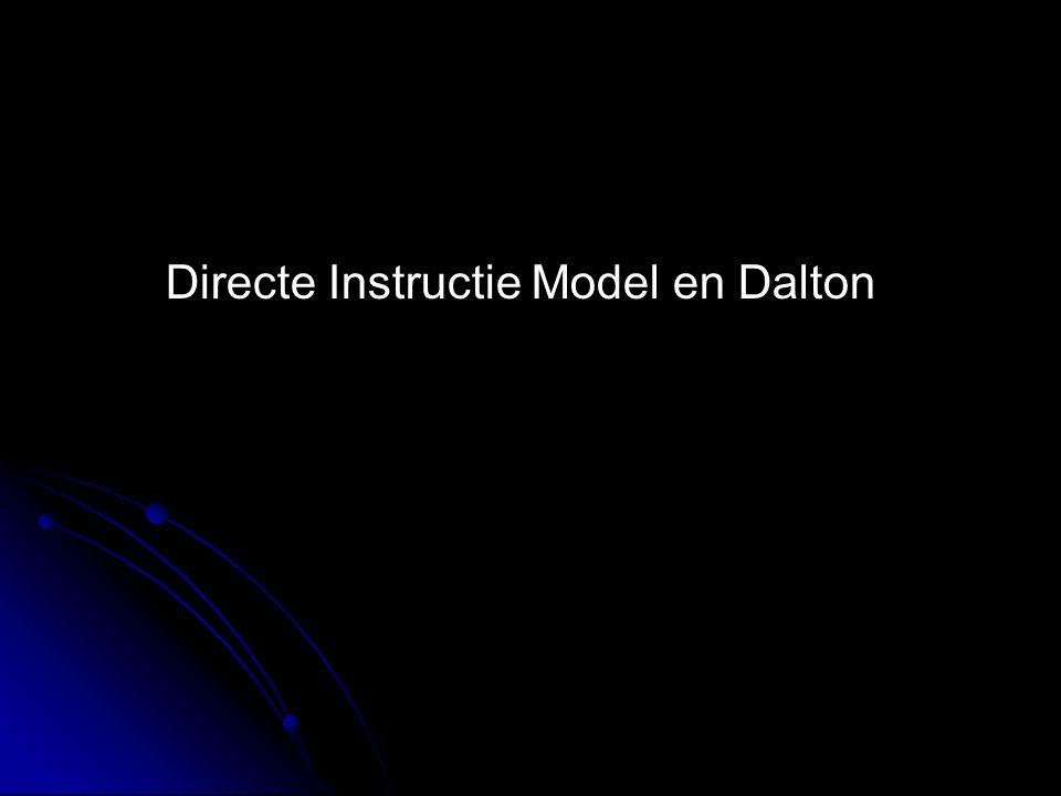 Directe Instructie Model en Dalton