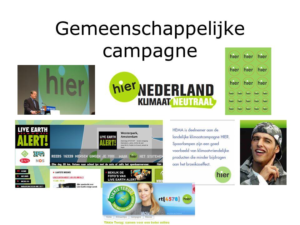Gemeenschappelijke campagne